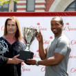 Fabio, Isaiah Mustafa - Stock Photo