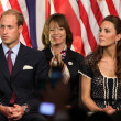 Prince William, Duke of Cambridge and Catherine, Duchess of Cambridge — Stock Photo