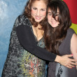 Kathy Najimy, daughter Samia — Stock Photo #13042032