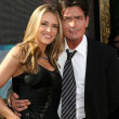 Brooke Mueller, Charlie Sheen — Stock Photo