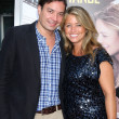 Jimmy Fallon &amp; Wife Nancy Juvonen - Stock Photo