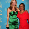 Michelle Stafford & Glenda Hatchett - Stock Photo