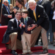 Stock Photo: Mel Brooks, Son Max (L) and grandson Henry