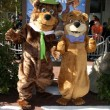 Stock Photo: Yogi Bear & BooBoo