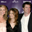 Amanda Tapping, Ben Browder, and Mary McDonnell — Stock Photo