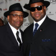 Terry Lewis & Jimmy Jam (James Samuel Jimmy Jam Harris III) — Stock Photo