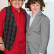Rico Rodriguez, Nolan Gould — Stock Photo