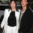Anjelica Huston & Nephew Jack Huston — Stock Photo