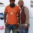 50Cent, Floyd Mayweather Jr — Stock Photo