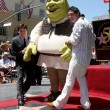 Mike Myers, Shrek, Antonio Banderas - Stock Photo