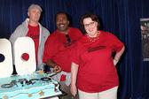 Creed Bratton, Leslie David Baker, Phyllis Smith — Stock Photo