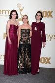Elizabeth McGovern, Joanne Froggatt, Michelle Dockery — Stock Photo