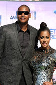 Carmelo Anthony, Lala Vasquez Anthony — Stock Photo