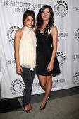 Shenae Grimes & Jessica Stroup — Stock Photo