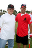 Pete Rose and James Denton — Stock Photo