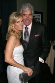 Cheryl Hines & Dennis Farina — Stock Photo