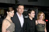 Michelle Monaghan, Ben & Casey Affleck, Amy Ryan — Stock Photo