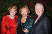 Jeanne Cooper, Lee Bell & Susan Flannery — Stock Photo