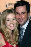 Jennifer Finnigan & Jonathan Silverman — Stock Photo