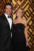Jon Hamm & Jennifer Westfeldt — Stock Photo