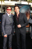 Robert Downey Jr. and Adrien Brody — Stock Photo