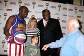 Big Easy,Eileen Davidson & Son, Sweet Lou Dunbar, Tommy Lasorda — Stock Photo