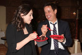 Eden Riegel, Christian LeBlanc — Stock Photo