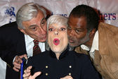 Jamie Farr, Carol Channing, & Ted Lange — Stock Photo