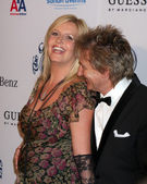 Penny Lancaster, Rod Stewart — Stock Photo