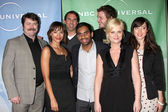 Amy Poehler, Parks, Recreation Cast — Stock Photo