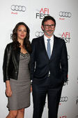 Berenice Bejo, Michel Hazanavicius — Stock Photo