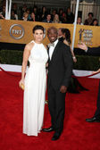 Idina Menzel & Taye Diggs — Stock Photo