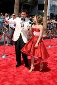 Ricky Paull Goldin & Rebecca Budig — Stock Photo