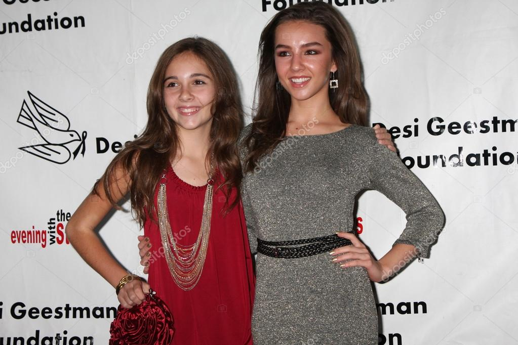 Lexi Ainsworth and haley pullos