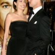 Angelina Jolie & Brad Pitt - Stock Photo