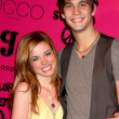 Molly Burnett and Casey Deidrick - Stock Photo