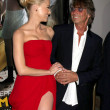 Stock Photo: Amber Heard, Bruce Robinson