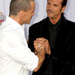 Antonio Sabato Jr and Lorenzo Lamas - Stock Photo