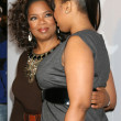 Stock Photo: Oprah Winfrey & Jennifer Hudson