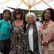 Shawn Mitchell, Beverly Todd, Nichelle Nichols, Judy Pace Flood - Stock Photo