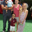 Melissa Joan Hart & Family - Stock Photo