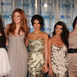 Stock Photo: Kylie Jenner, Khloe Kardashian, Kim Kardashian, Kourtney Kardash