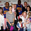 Amazing Race Staff with Big Easy and Flight Time — Stockfoto