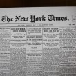 Newspaper from Birth Day in 1909 — Stock Photo #13056320