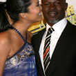 Kimora Lee & Djimon Hounsou — Stock Photo