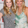 Kimberly Matula & Katherine Kelly Lang - Stock Photo