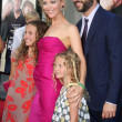 Leslie Mann, Judd Apatow &amp; thier daughters Maude &amp; Iris  Apatow - Stock Photo