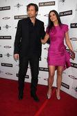 David Duchovny, Demi Moore — Stock Photo