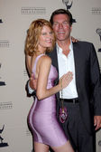 Michelle Stafford and Peter Bergman — Stock Photo
