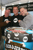 Ben Cohen, Jerry Greenfield, David Lane — Stock Photo